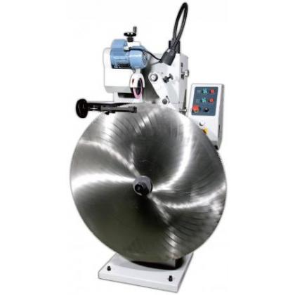 Friction saw blade grinders